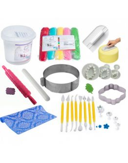 Roll - Fondant Super Starter Set  15 Teilig