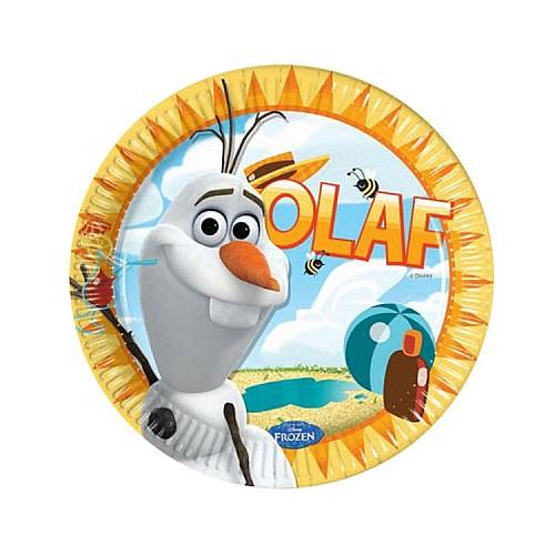 Frozen Olaf Pappteller