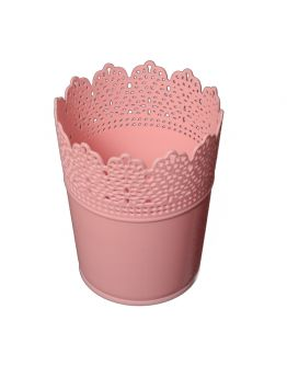 Dekoration Vase Aus Plastik Babyrosa 1 Stück