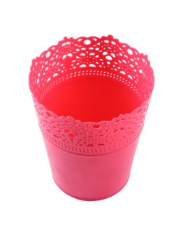 Dekoration Vase Aus Plastik Pink 1 Stück