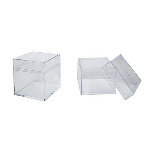 Geschenkbox / Plastik Box 12 stück ( Mika )