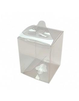 Acetat Schachteln Transparent 5x5x6,5cm 5  stück