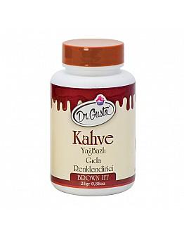 Dr Gusto Lebensmittel Pulverfarbe Fettlöslich Braun 25g