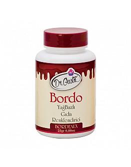Dr Gusto Lebensmittel Pulverfarbe Fettlöslich Weinrot 25g