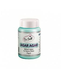 Dr Gusto Agar Agar / Pflanzliche Gelatin 75 g