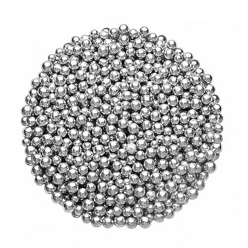 Dr Gusto Silber Torten Dekoration Zucker Perlen 4 mm 250 gr
