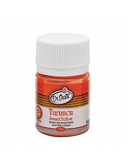 Dr Gusto Lebensmittel Pulverfarbe Wasserlöslich Orange 10g
