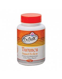Dr Gusto Lebensmittel Pulverfarbe Wasserlöslich Orange 75g