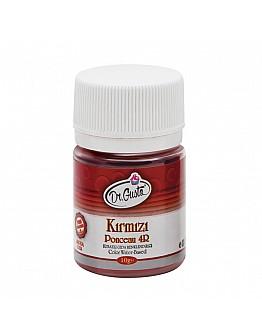 Dr Gusto Lebensmittel Pulverfarbe Wasserlöslich Rot 10g