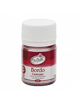 Dr Gusto Lebensmittel Pulverfarbe Wasserlöslich Weinrot 10g