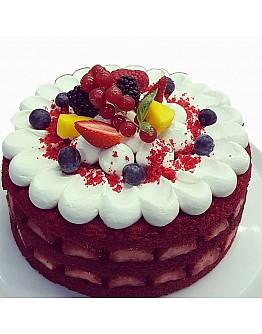 Ovalette Red Cake Backmischung Biscuit / Sponge Cake 3 kg