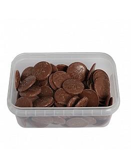Ovalette Vollmilch Münzen Schokolade / Schmelzdrop