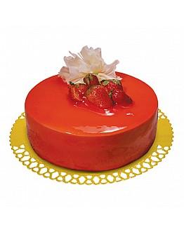 Ovalette Erdbeere Tortenguss 7 kg Eimer
