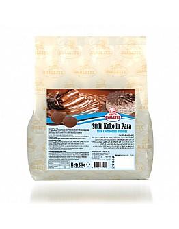 Ovalette Vollmilch Kuvertüre Schokolade Schmelz / Münze Schokolade 5 kg