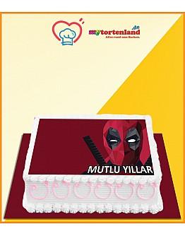 Deadpool 2 Tortenaufleger / Lebensmittel Fotodruck