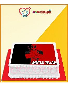 Deadpool 3 Tortenaufleger / Lebensmittel Fotodruck