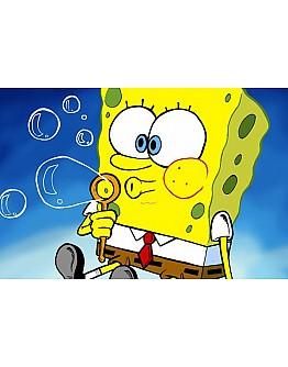Sponge Bob Tortenaufleger / Lebensmittel Fotodruck