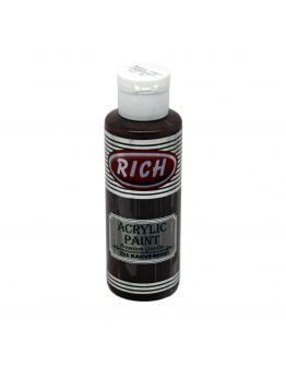 Rich Opak Acrylfarbe Braun 130ml