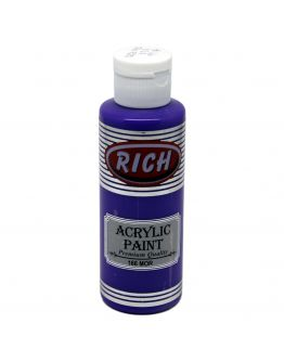 Rich Opak Acrylfarbe Lila 130ml