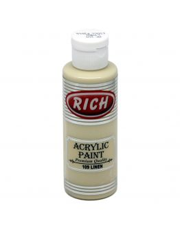 Rich Opak Acrylfarbe Linen 130ml