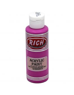 Rich Opak Acrylfarbe Magenta 130ml