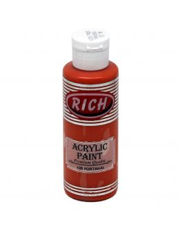 Rich Opak Acrylfarbe Orange 130ml