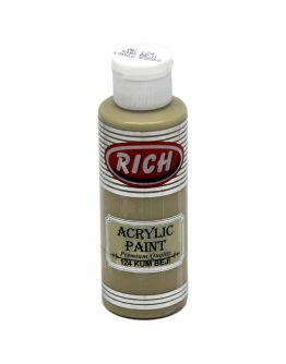 Rich Opak Acrylfarbe Sandbeige 130ml