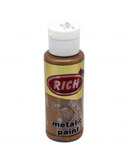 Rich Acrylfarbe Metallic Bronze 70ml