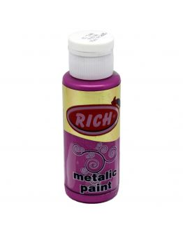 Rich Acrylfarbe Metallic Fuchsia 70ml