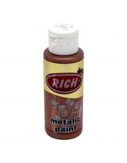 Rich Acrylfarbe Metallic Hell Bronze 70ml
