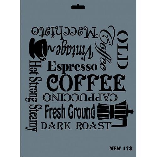 Coffee / Deko Schablonen
