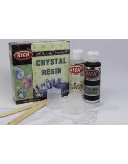 Transparent Crystal Resin  (Crystal Harz ) 130+65 ml