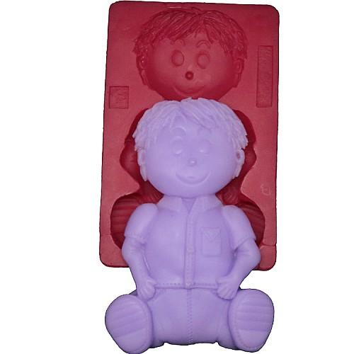 3D Jung Figure Silikonform