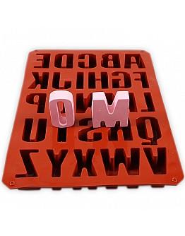 Alphabet 3D Groß  ca. 5 cm Silikon Form