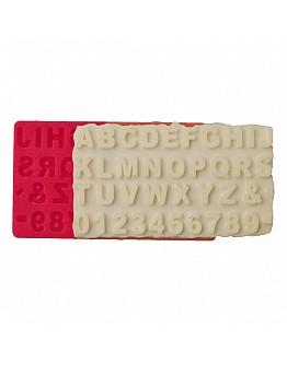 Alphabet klein  Silikon Form ca. 1,5 cm