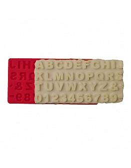 Alphabet klein  Silikon Form ca. 2 cm
