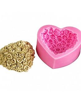 Blumen Haufen Seife & Duftsteine Silikonform