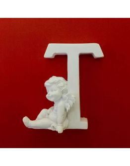 Buchstaben T mit Engel Silikonform