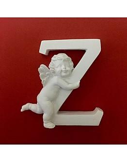 Buchstaben Z mit Engel Silikonform