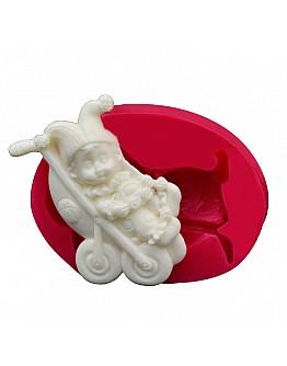 Babywagen Silikonform