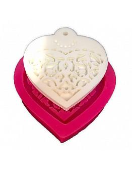 Braut Herzform zum Aufhängen Silikonform