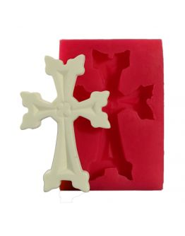 Kreuz Groß Silikonform ( SOAP CROSS MOLD )
