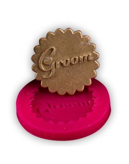 Groom Cupcake Dekor   Silikon Form