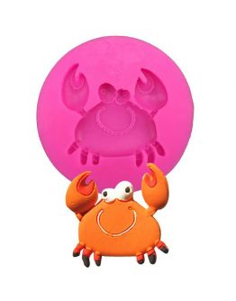 Krabbe Silikonform