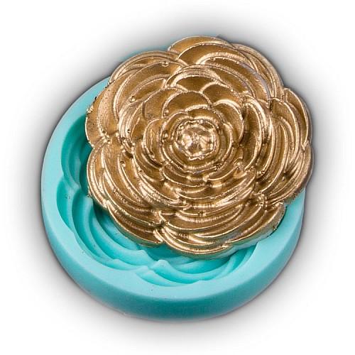 Rosenblüte Cupcake Dekoration Silikon Form 3.5 cm
