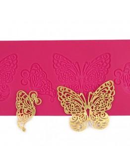 Silikon Spitze matte Schmetterling