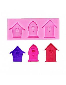 Vogel Haus Silikonform