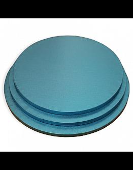 Tortenplatte / Cake Board Rund Blau 26 cm