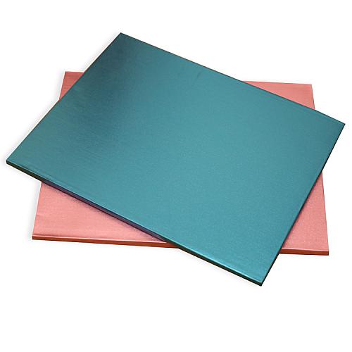 Tortenplatte / Cake Board Rechteck Blau 35x45 cm