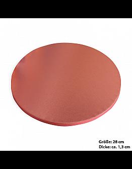 Tortenplatte / Cake Board Rund Rosa 28 cm